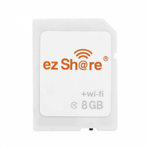 Карта SDHC ez Share 8Gb с Wi-Fi адаптером (mark II)